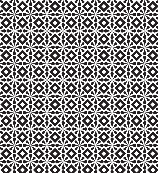 Simple Free Abstract Black And White Pattern.