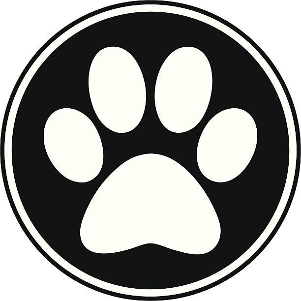 Best Dog Paw Print Illustrations, Royalty.