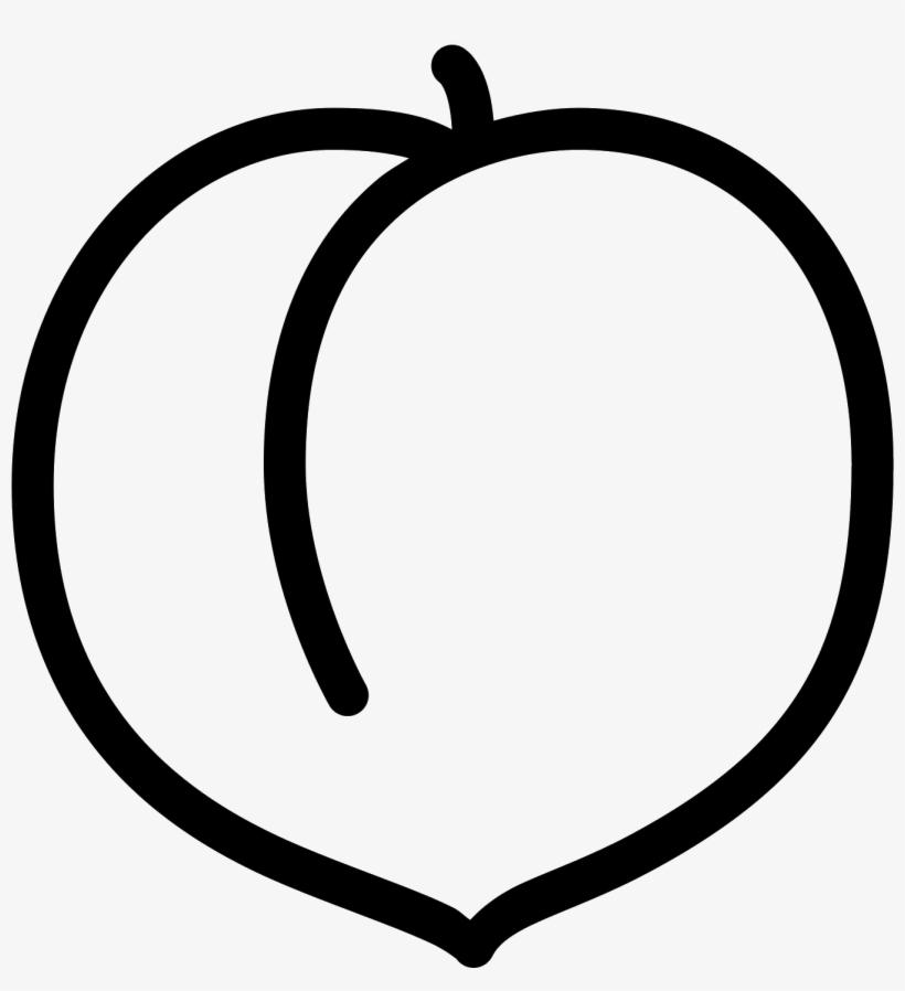 Peach Icon.