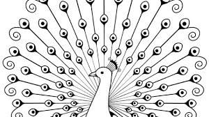 Image result for peacock clipart images black and white.