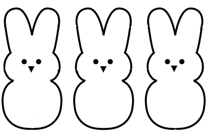 Peeps Coloring Book Marshmallow Candy PNG, Clipart, Black.