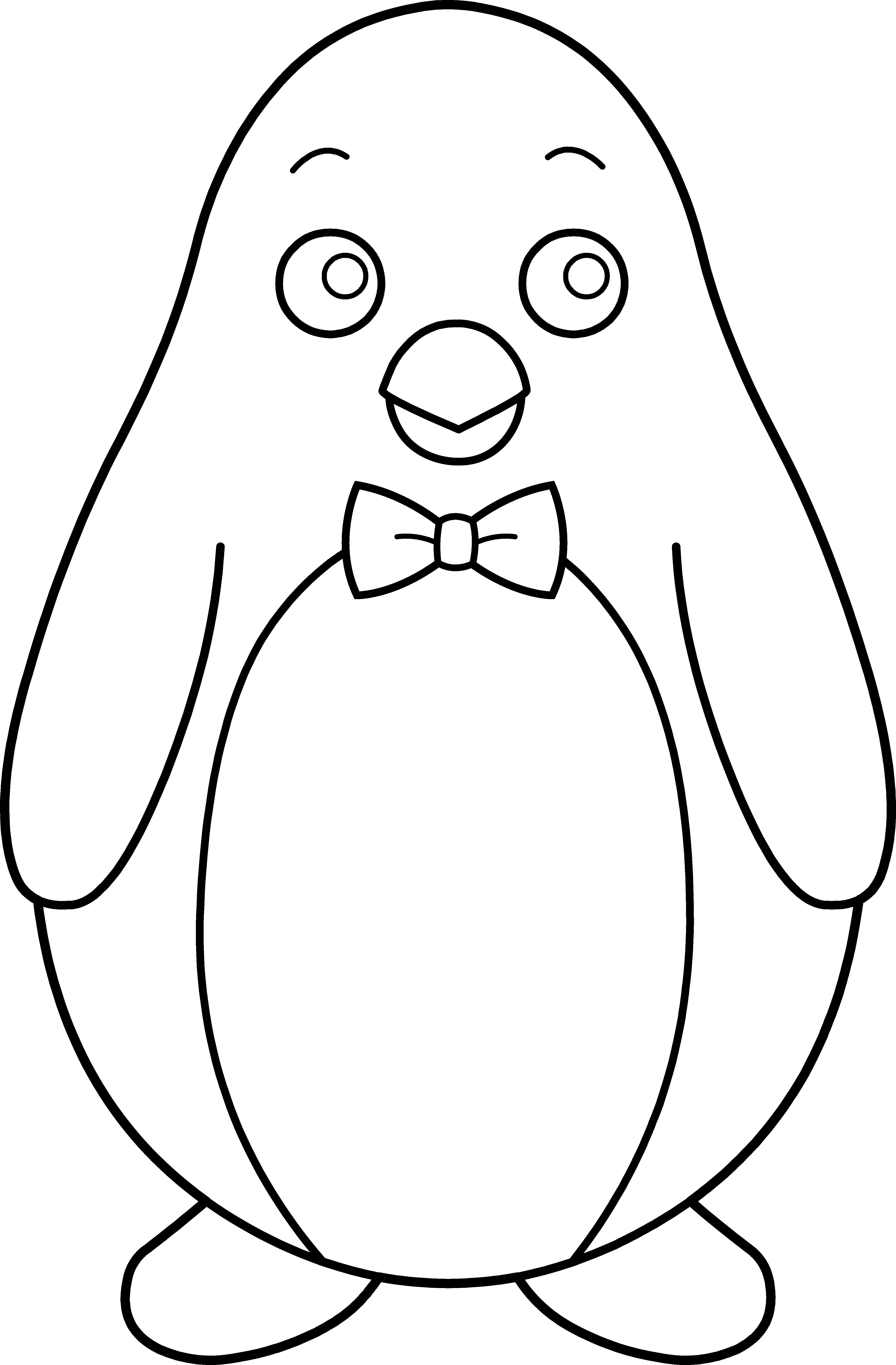 Black and white penguin clipart 4 » Clipart Station.