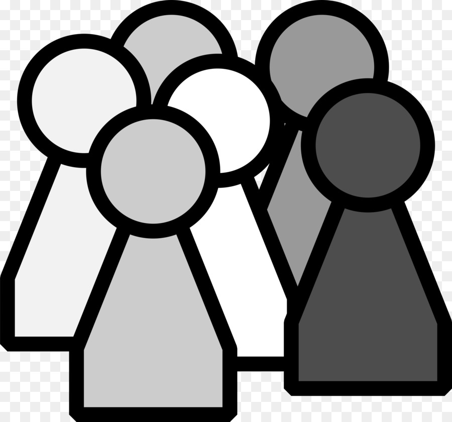 People Working Clipart Black White & Free Clip Art Images #28745.