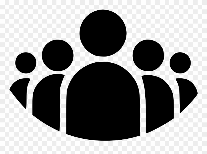People Clipart Black And White Png , Png Download Transparent Png.