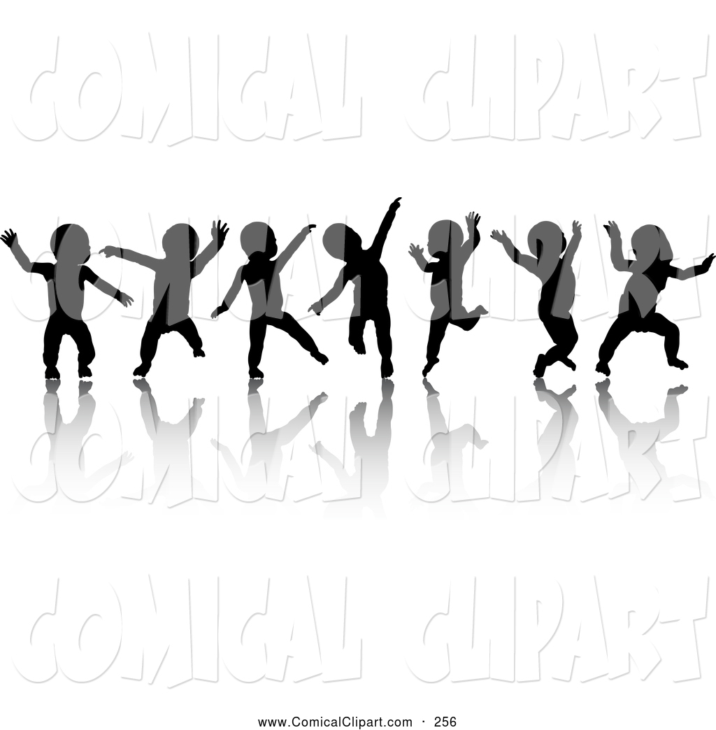 People Clip Art Black And White.