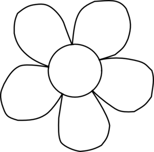 Clipart Flowers Black And White & Flowers Black And White Clip Art.