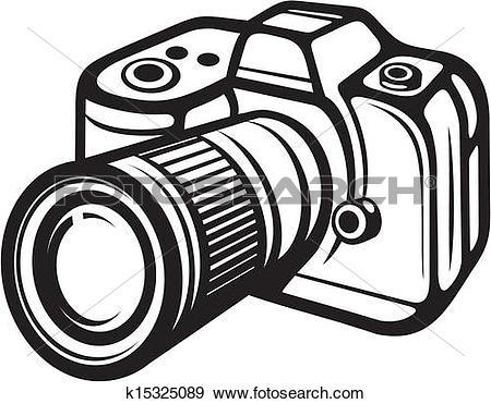 Clipart of Compact digital camera k15325081.