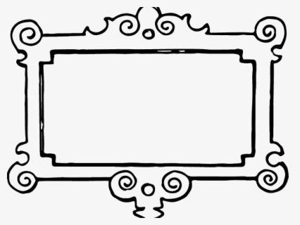 Free Picture Frame Black And White Clip Art with No.