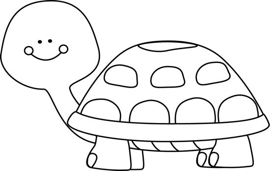 16+ Turtle Clipart Black And White.