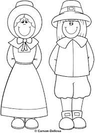 Pilgrim Clipart Black And White.