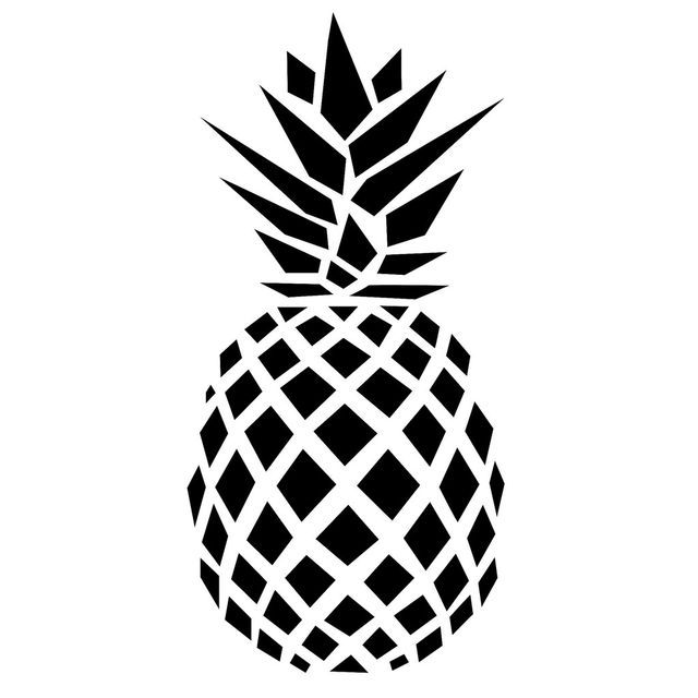 Pineapple black and white ideas about pineapple clipart on 6.