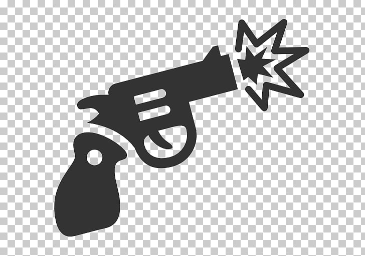 Computer Icons Pistol Firearm Weapon, guns PNG clipart.