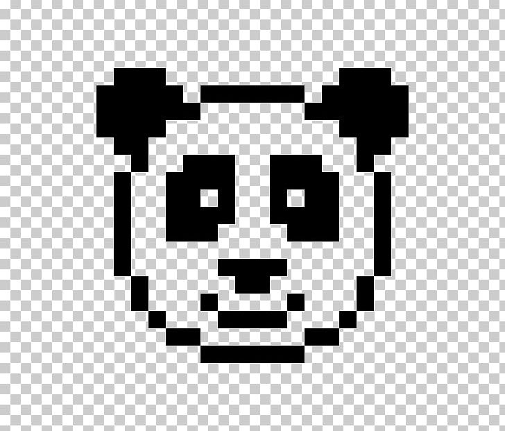 Minecraft Giant Panda Pixel Art Drawing PNG, Clipart, Art.