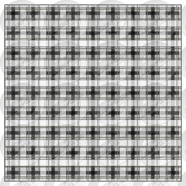 Plaid Outline for Classroom / Therapy Use.