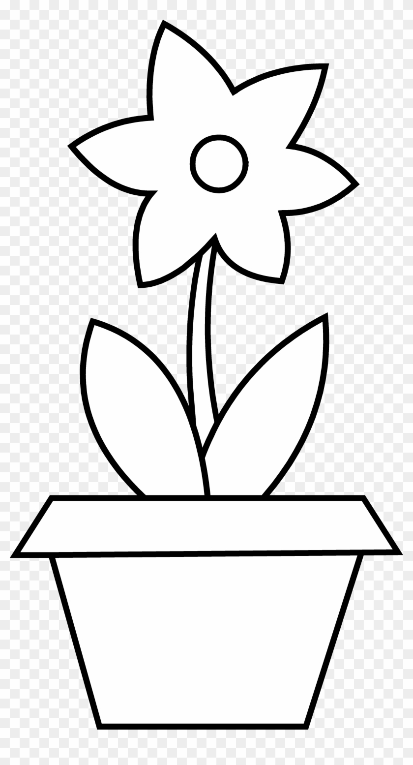 Plant Clipart Colouring.