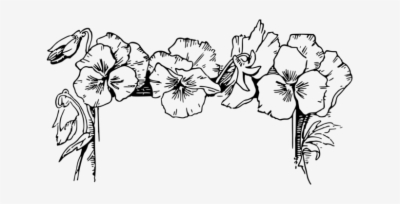 flower designs black and white border png at sccpre.cat.