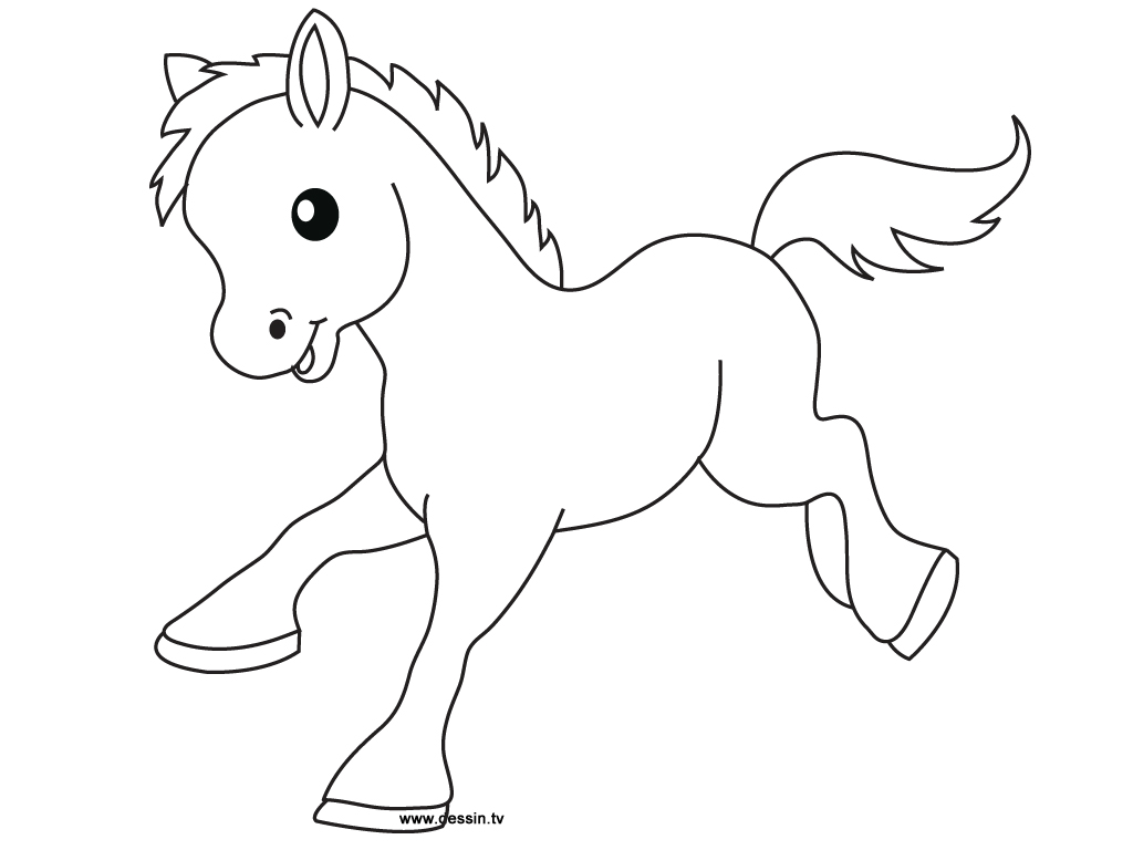 Pony clipart black and white 5 » Clipart Station.