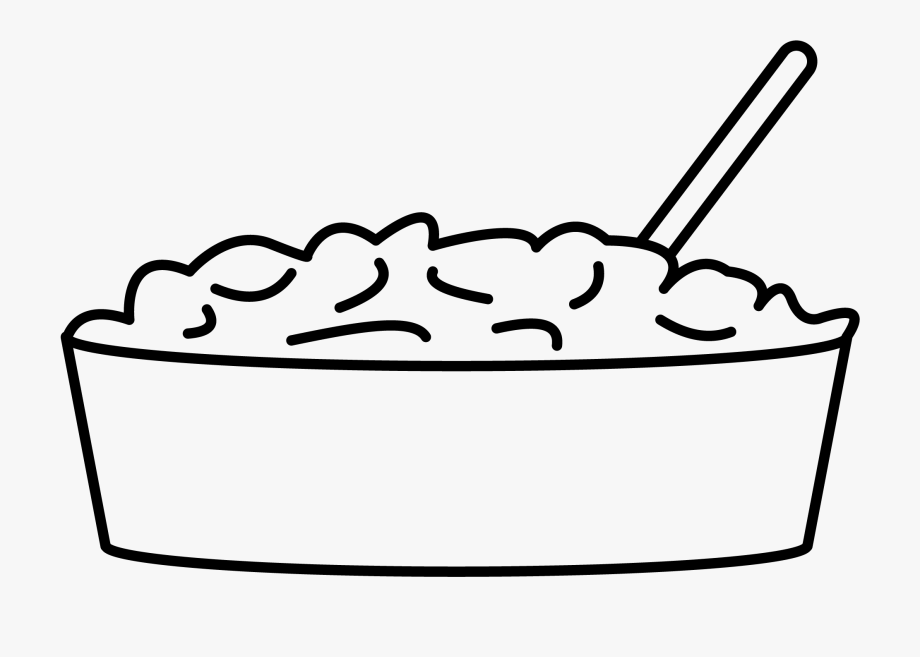 Mashed Potatoes Image.