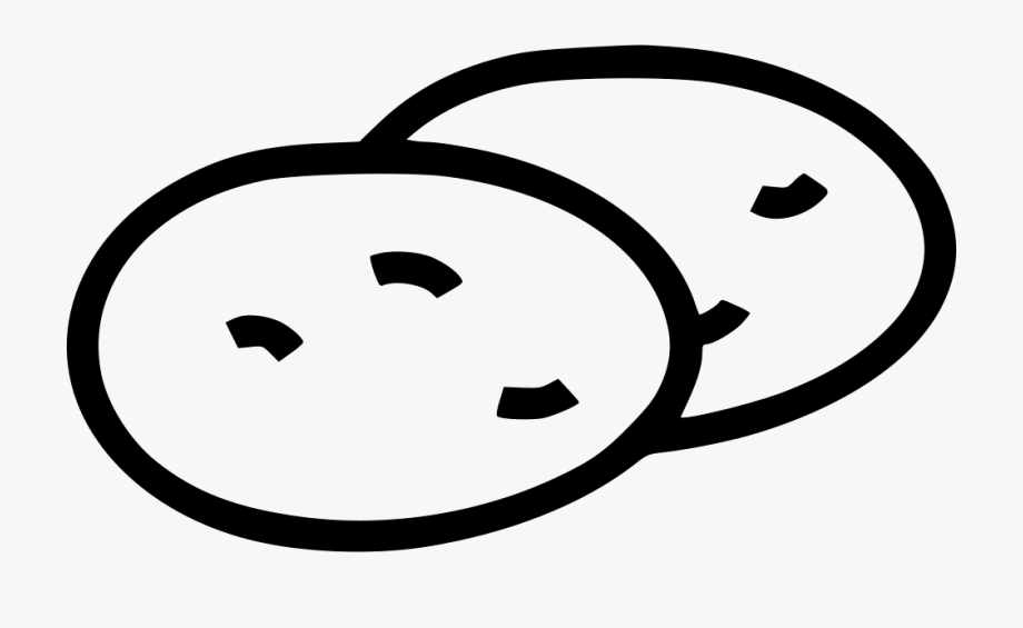 Potato Starch Carbohydrates Carbs Healthy Svg Png Icon.