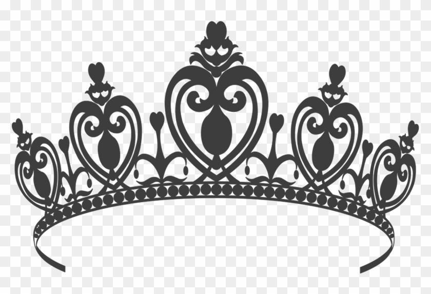 Black And White Princess Crown Png & Free Black And White Princess.