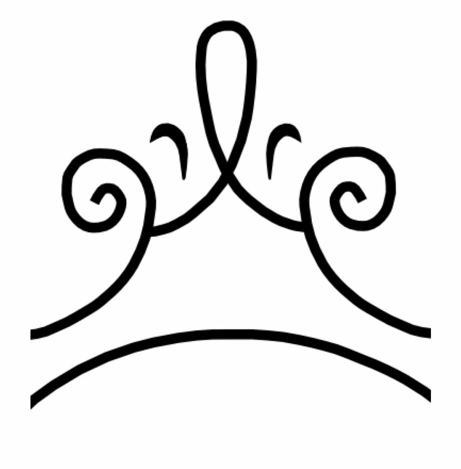 Black Princess Crown Clipart.