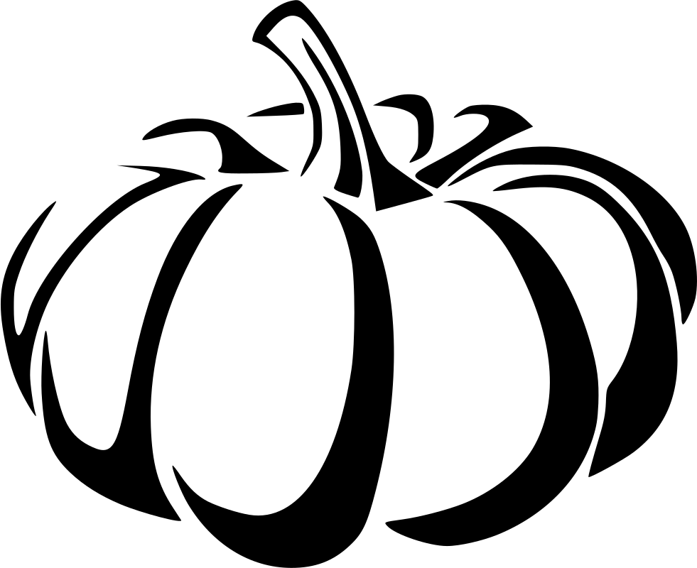 Pumpkin Png Black And White & Free Pumpkin Black And White.png.