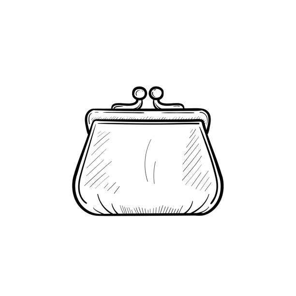 Best Coin Purse Illustrations, Royalty.