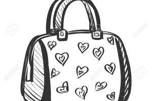 Black and white purse clipart 1 » Clipart Portal.