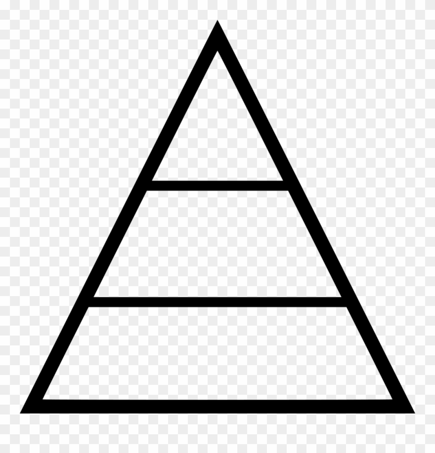 Transparent Pyramid Svg.