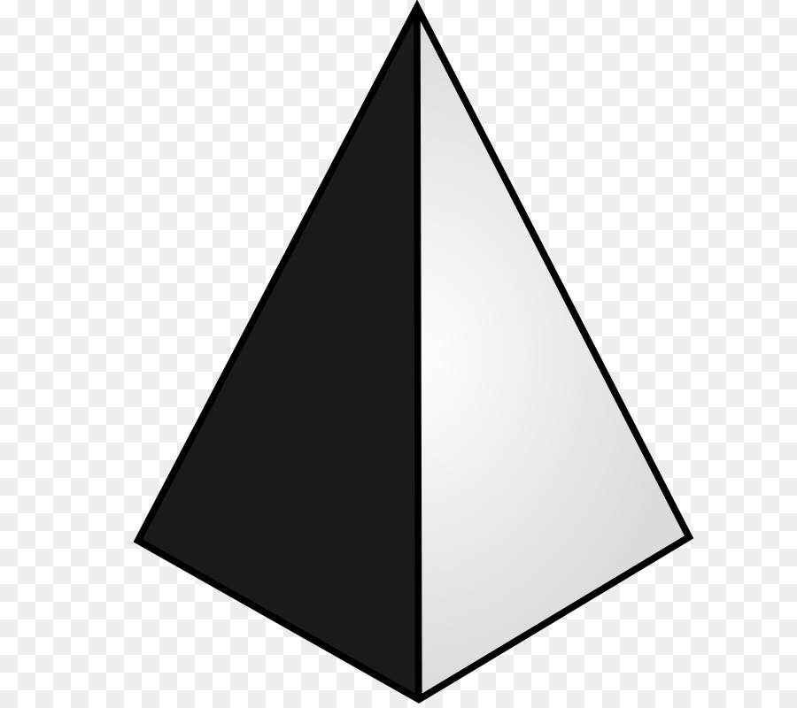 Black Triangle clipart.
