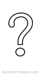 Question mark clipart black and white 3 » Clipart Station.