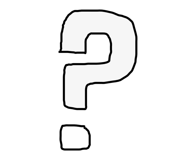 Question Mark Clip Art Black And White Marks Transparent Png.