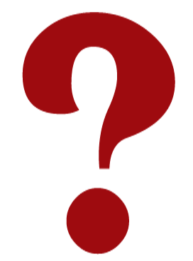 black and white question mark clipart with no back ground #17