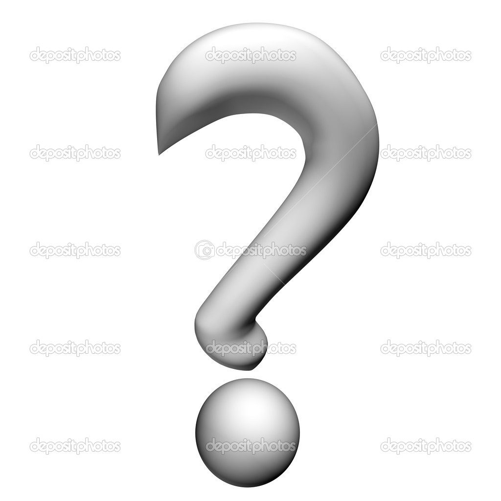 Black And White Question Mark Clipart With No Back Ground.