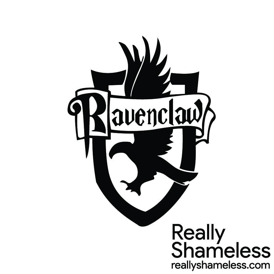 Ravenclaw Logo Silhouette.