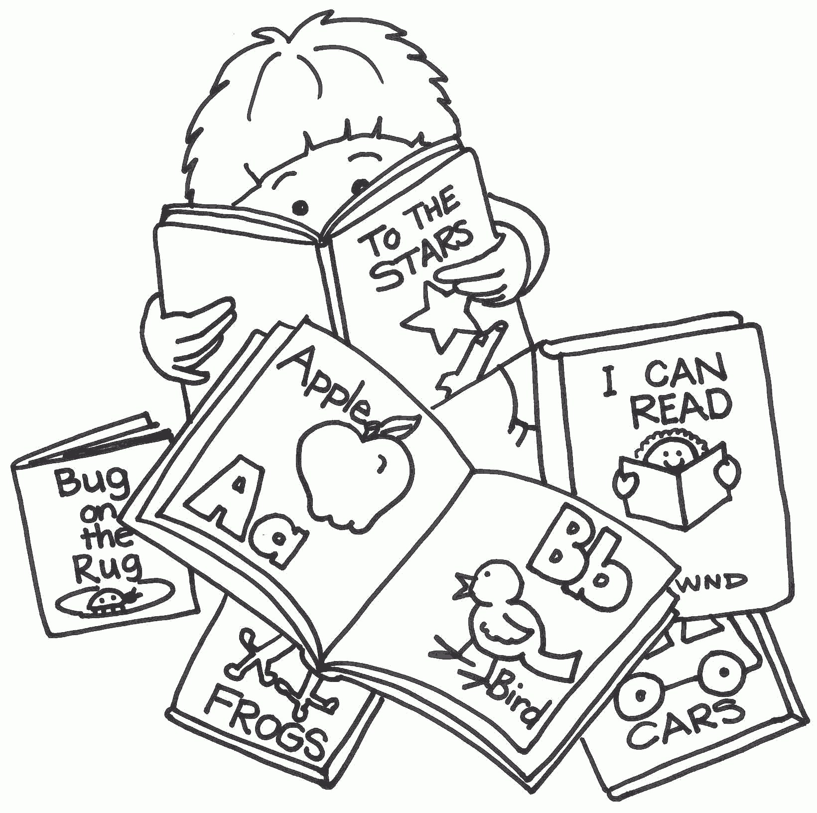 Best Reading Clipart #3168.