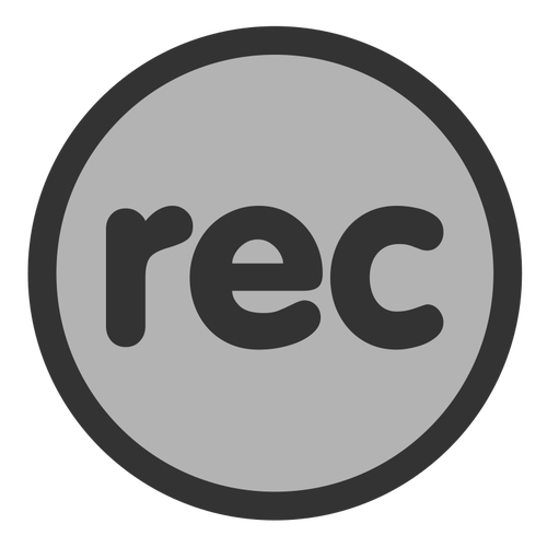 165 recording free clipart.