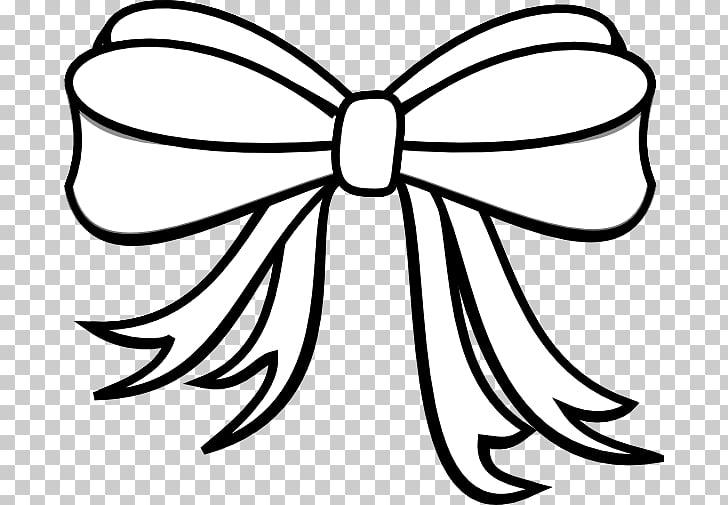 Ribbon White Black , White Present s PNG clipart.