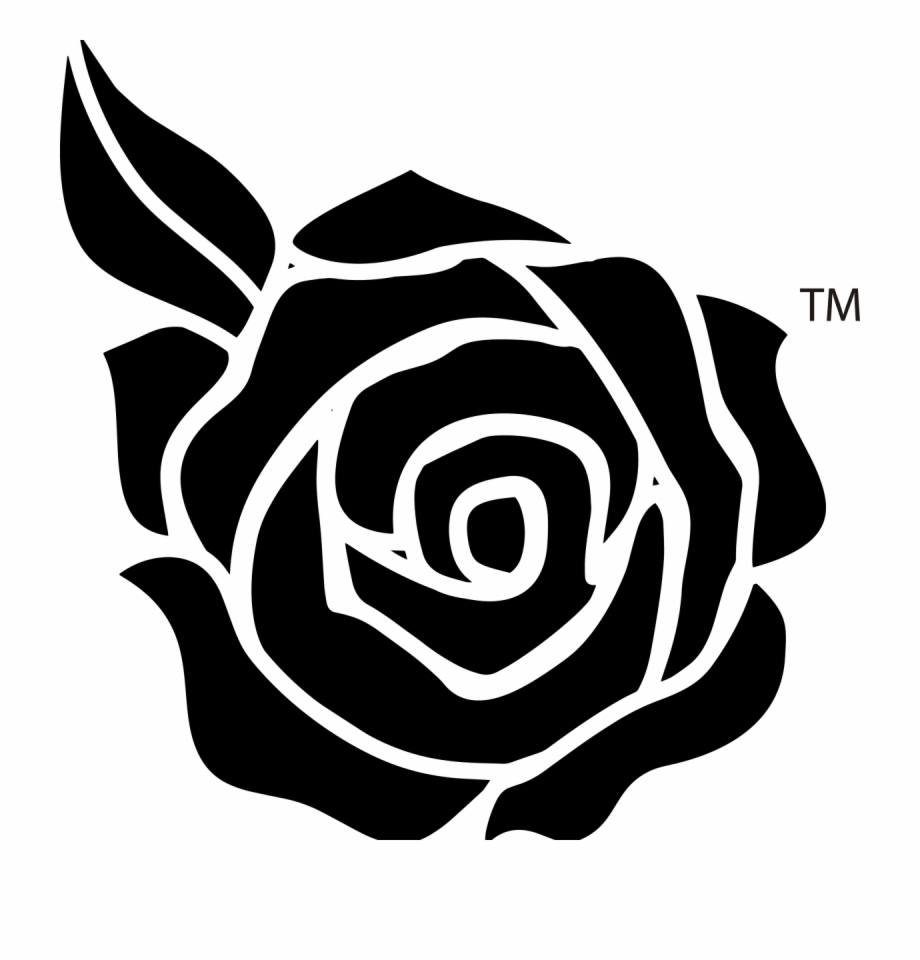 Black And White Rose Png Free PNG Images & Clipart Download #2029603.