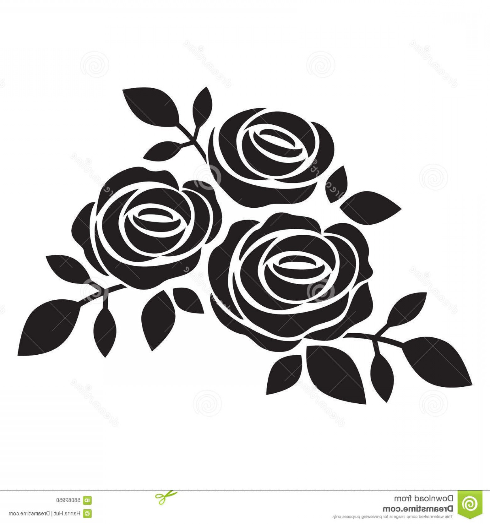 Clipart Rose Black And White Abstract Black And White Rose Close Up.