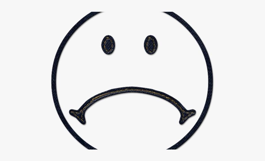 Depressed Face Clipart.