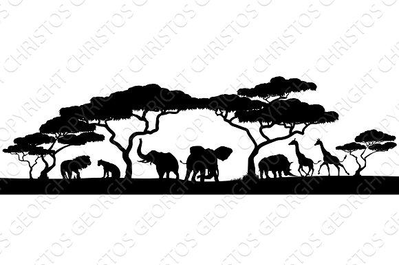 3516 Safari free clipart.