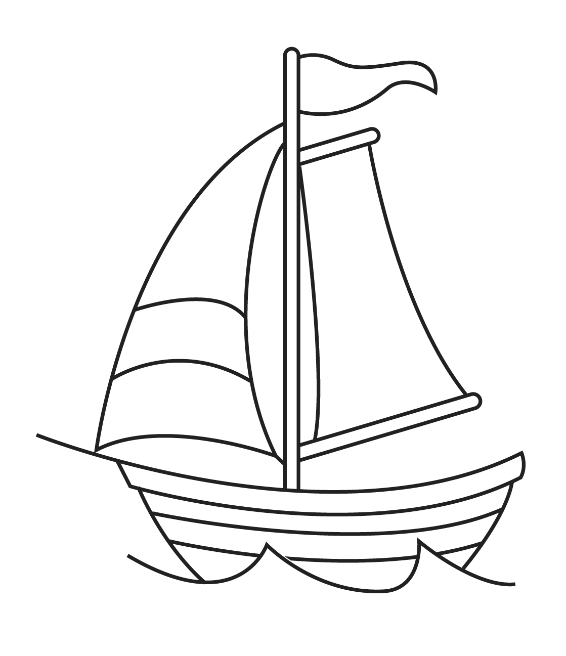 Similiar Black And White Sailboat Drawing Keywords.