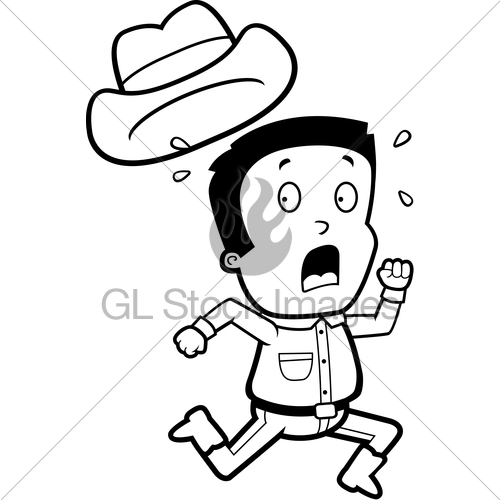 Showing post & media for Cartoon scared cowboy.