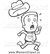 Royalty Free Black and White Stock Western Designs.