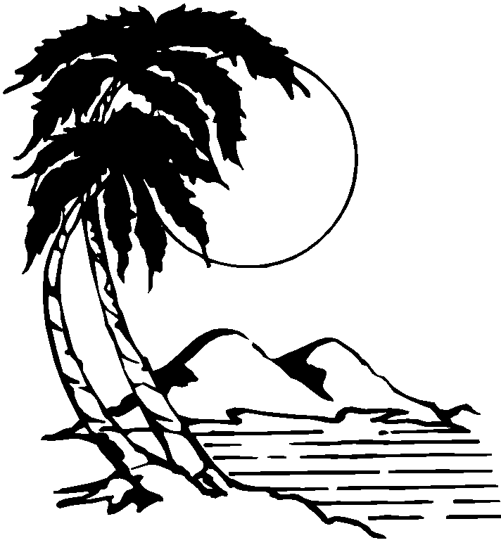 Free Scenery Clipart Black And White, Download Free Clip Art.