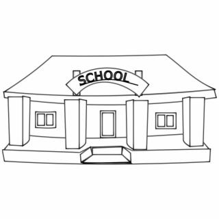 Free School Building PNG Image, Transparent School Building Png.