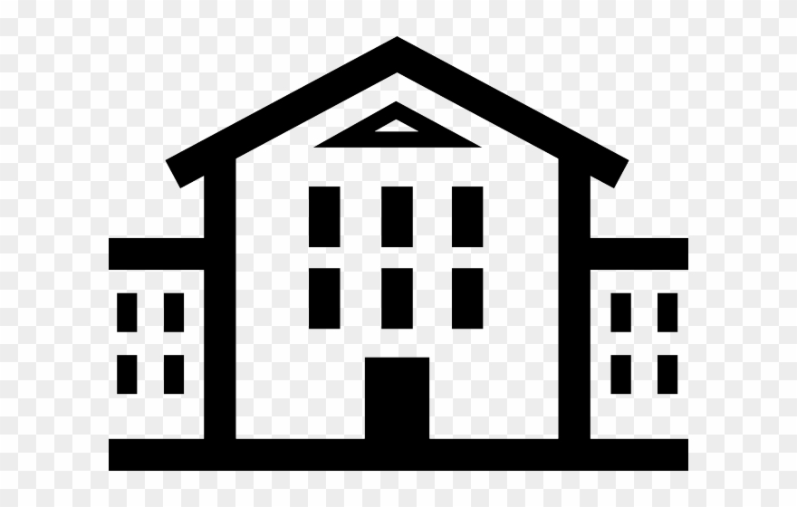 White House Clipart High School Building.