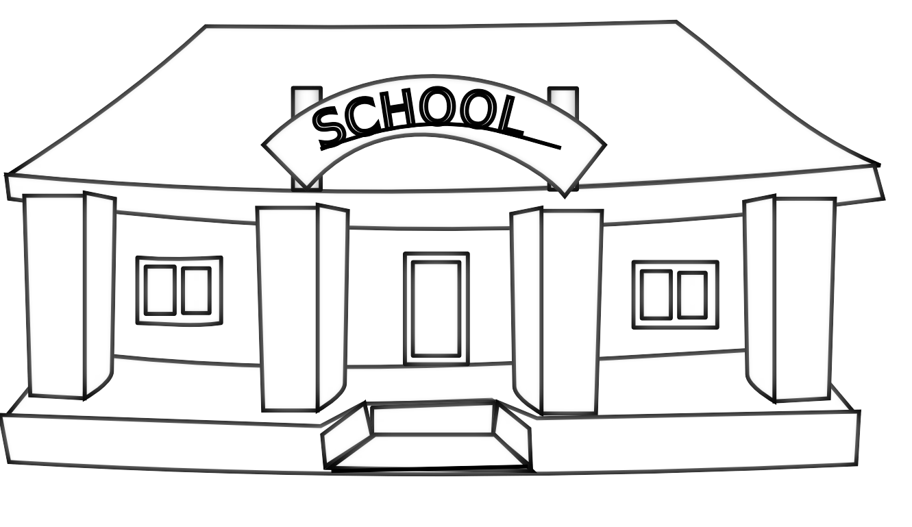 Black and white school clipart free 4 » Clipart Portal.