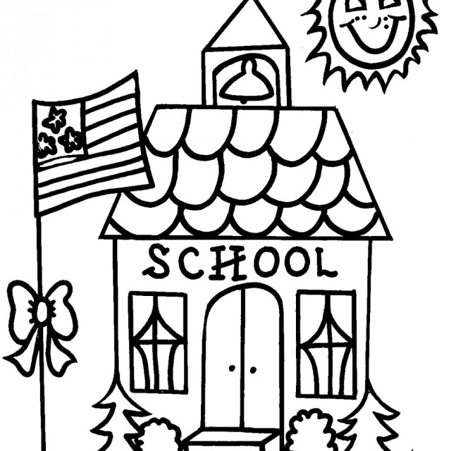 Schoolhouse Clipart Black And White (101+ images in Collection) Page 1.